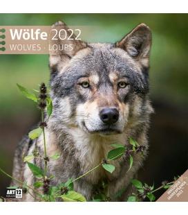 Wall calendar Wölfe Kalender 2022