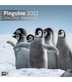Wall calendar Pinguine Kalender 2022
