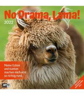 Wall calendar No Drama, Lama! Kalender 2022