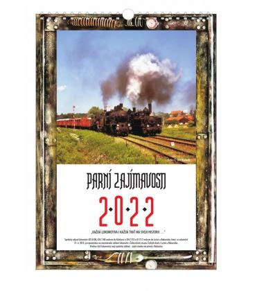 Wall calendar Steam attractions 2022