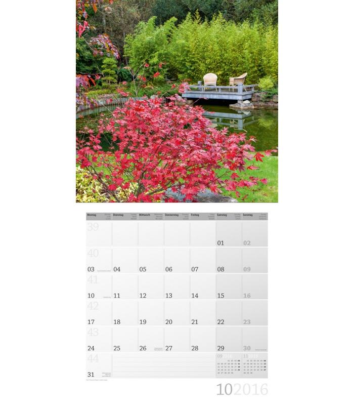 Secret Garden: Wall Calendar Magic Garden 30 X 30 Cm 2016