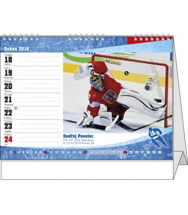 kalendar cesky Stolní kalendář   Český hokej kalendar cesky
